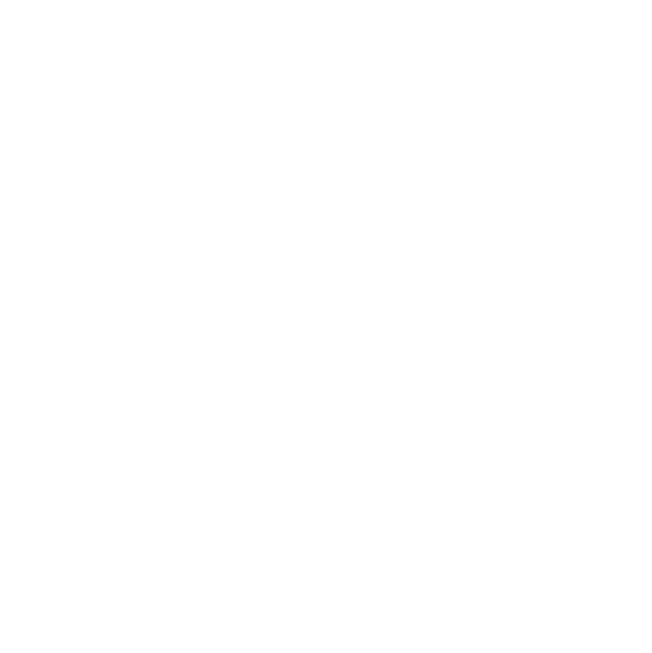 White AISC Logo Displaying that Southeastern Construction is an AISC Structural Steel Fabricator