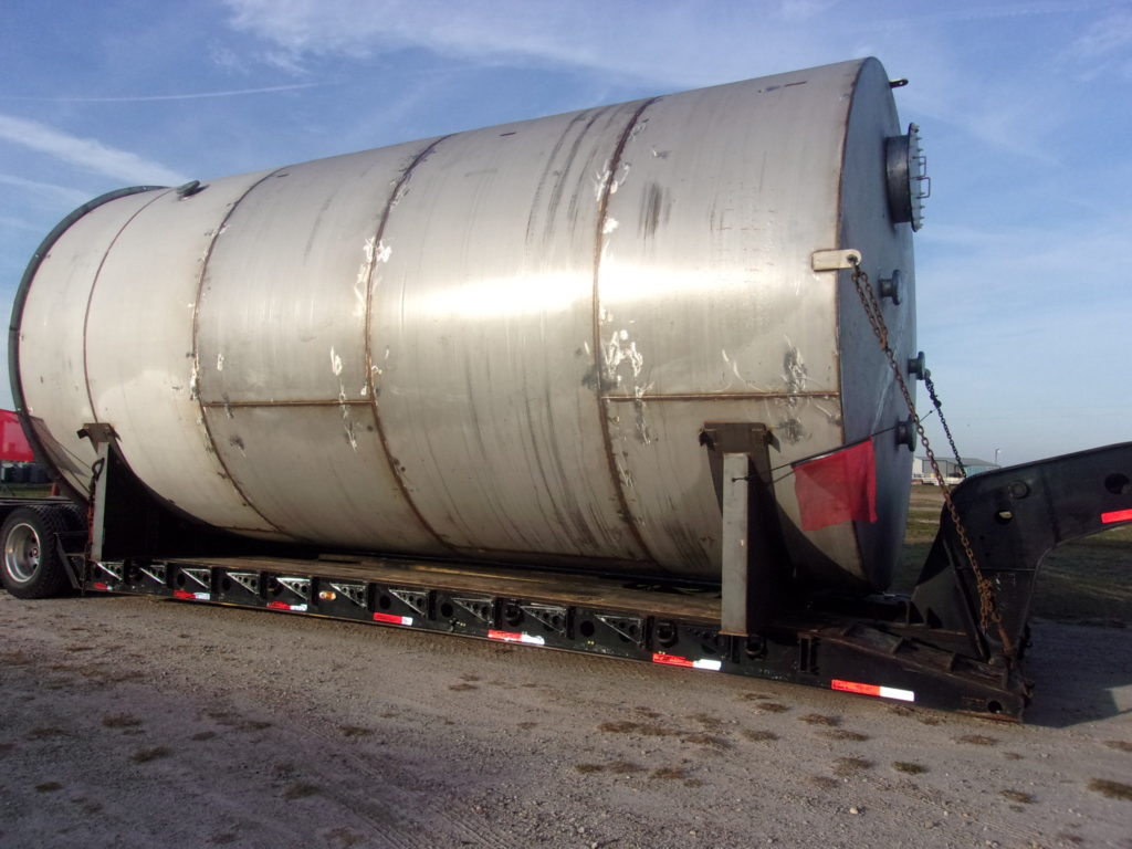 Steel API Tank Fabricated by Southeastern Construction Who is a Leader in Custom Steel Plate Fabrication