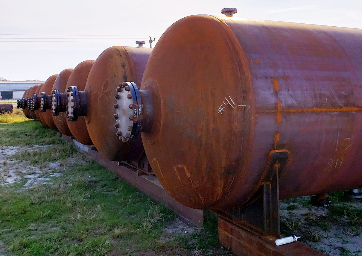 Multiple Steel Autoclaves That Have Been Fabricated by Southeastern Construction