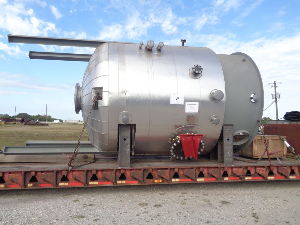 Steel ASME Pressure Vessel Fabricated by Southeastern Construction Who is an ASME Accredited Steel Fabricator